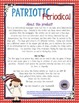 Informational Text - Memorial Day and Independence Day Newspaper