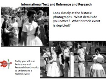 Informational Text Mini-Lesson 2:  Plessy, Brown, and Ruby