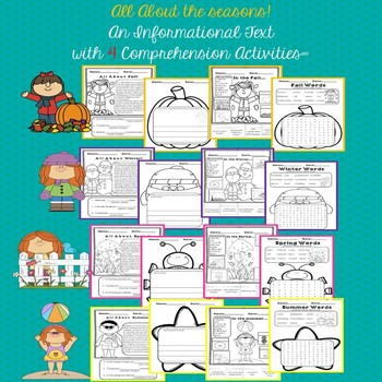 Informational Text: Seasons (Common Core Aligned)