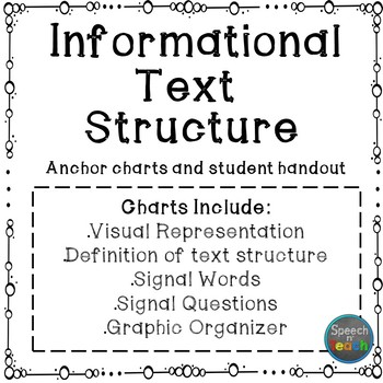 Informational Text Structure