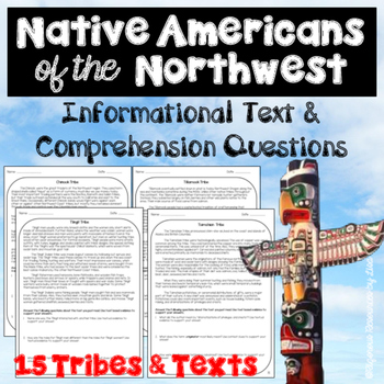 Native Americans of the Northwest-Informational Text and C