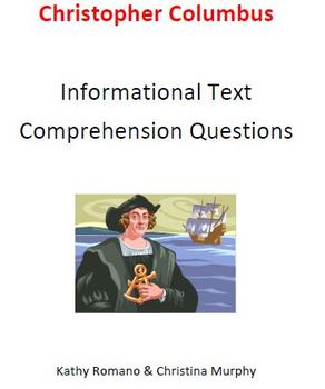 Informational Text and Comprehension Questions for Christo
