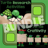 Informational Turtle Research & Craftivity BUNDLE