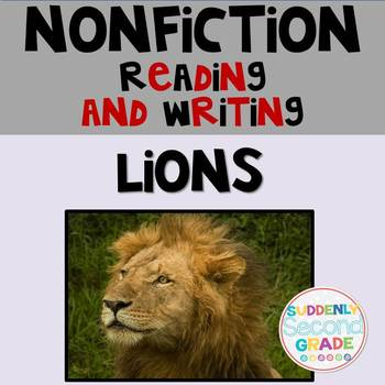 Informational Writing: Lions!