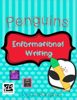 Informational Writing-Penguins!