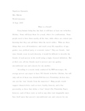 Informational Writing: Personal Definition Essay Assignment