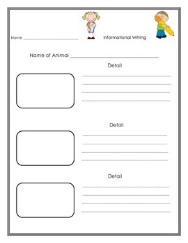 Informational Writing Planner