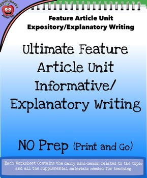 Informational and Explanatory Reading and Writing Unit (Ov