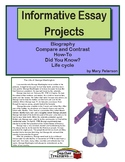 Informative Essay Projects