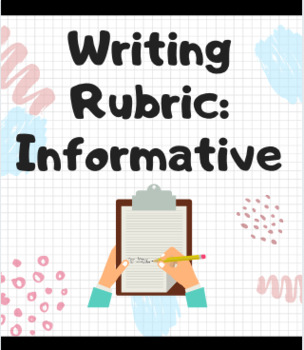 Informative Essay Rubric