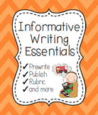 Informative Writing Essentials {Informative and Expository