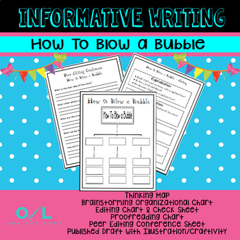 Informative Writing- How To Blow A Bubble