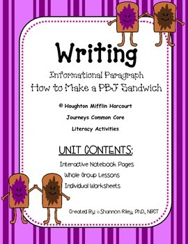 Informative Writing: Inf. Paragraph/Main Idea/Supp. Topic