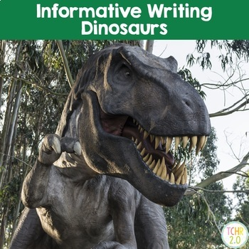 Dinosaurs Informative Writing Research Velociraptor Tyrann