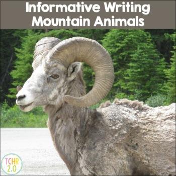 Mountain Animals Informative Writing Research Eagle Mountain Goat