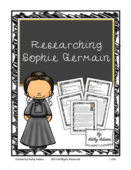 Informative Writing and Research Sophie Germain