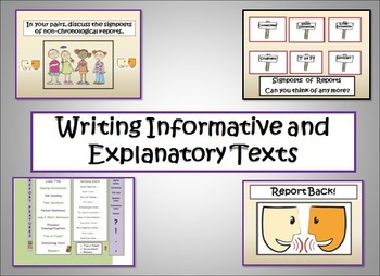 Informative and Explanatory Writing - Egyptian Themed