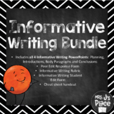 Informative/Explanatory Writing Bundle