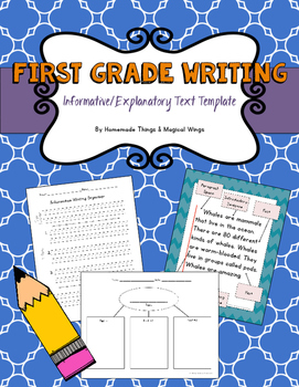 Informative/Explanatory Writing Template {First Grade}