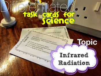 Infrared Radiation Task Cards