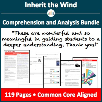 Inherit the Wind – Comprehension and Analysis Bundle