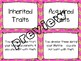 Inherited & Acquired Traits Card Sort