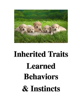 Inherited Traits, Learned Behaviors, and Instincts Game