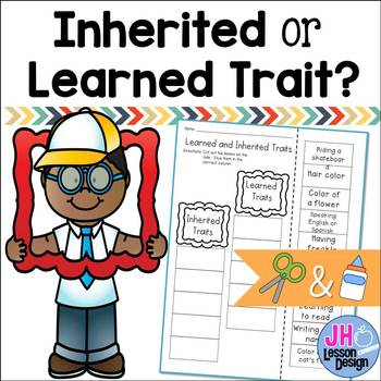 Inherited and Learned Traits - Cut and Paste Activity
