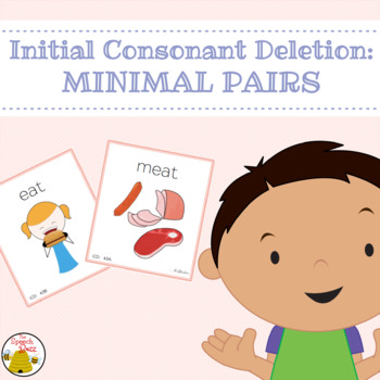 Initial Consonant Deletion: Minimal Pairs
