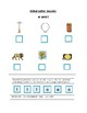 Phonics --Initial letter  Worksheet l and o for the non-writer