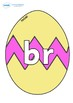 Initial Letter Blends on Easter Eggs (Cracked)