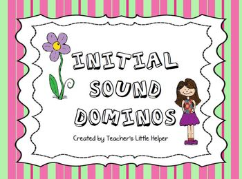 Initial Sound Domino Literacy Center