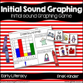 Initial Sound Graphing Game (phonological awareness)