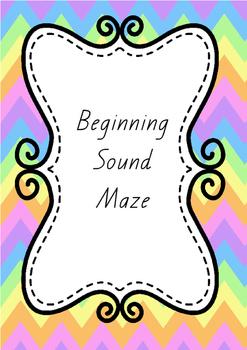 Initial Sound Mazes