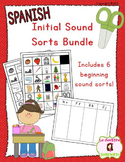 Beginning Sound Recognition Bundle: 6 Initial Sound Word S