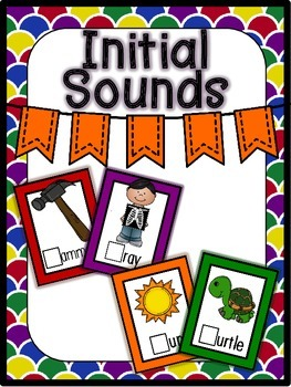 Initial Sounds-Fun Literacy Stations
