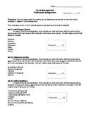 Injury Management Flashcard Project