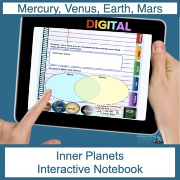 Inner Planets Digital Flip Book
