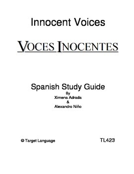 Innocent Voices-Spanish Study Guide