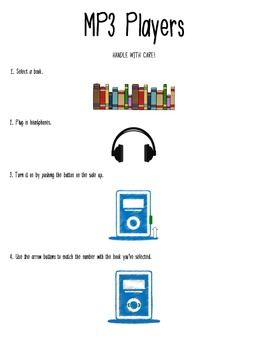 Innovations for Learning MP3 Player Directions
