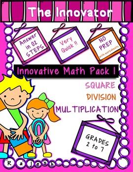 Innovative Mathematics Pack 1 – Multiplication, Division a