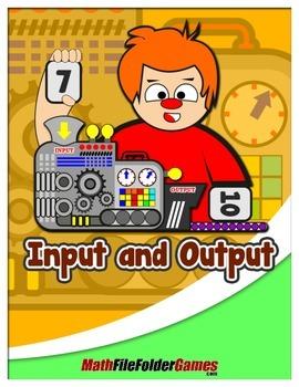 Input and Output {Classroom Math Game}