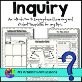 Inquiry Based Learning: A Guided Unit For ANY TOPIC.