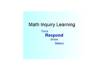 Discovery and Inquiry Learning Strategy SmartBoard Lesson