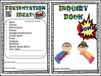 Inquiry Mini-Book!!