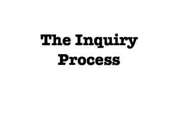Inquiry Process Open House Activities