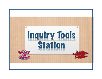 Inquiry Tools by Student Readiness with Stations