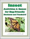 Insects Science Activities and Games - Insects Unit