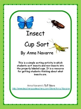 Insect Cup Sort