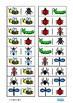 Insect Dominoes Game, Turn Taking Skills Autism & Special